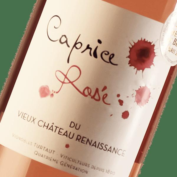Caprice Rosé du Château Vieux Renaissance