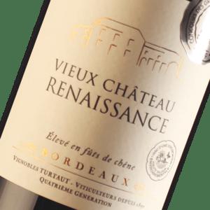 Bordeaux Supérieur du Château Vieux Renaissance