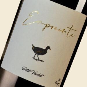 Etiquette Empreinte Vignobles Turtaut